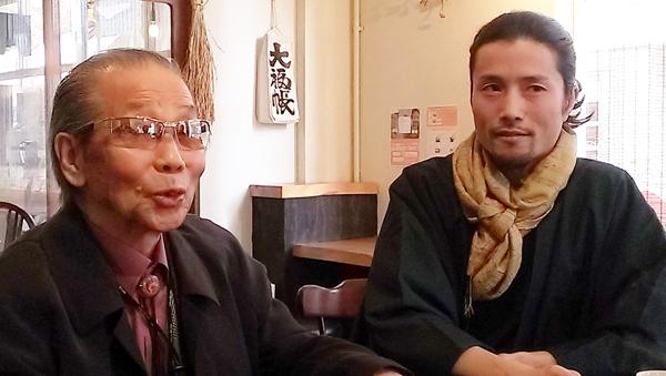 菅野賢一博士と辻野先生